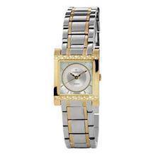 Christina Watches tofarvet dameur med 0,07 carat diamanter, 137-2BW