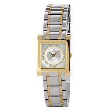 Christina Watches tofarvet dameur med 0,03 carat diamanter, 137BW