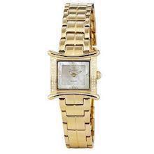 Christina Watches forgyldt dameur med 0,14 carat diamanter, 139-2GW