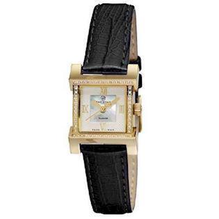 Christina Watches forgyldt dameur med 0,12 carat diamanter, 142-2GWBL