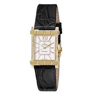 Christina Watches forgyldt dameur med 0,10 carat diamanter, 143-2GWBL