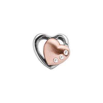 Christina Collect, Hearts 2-tone rosa forgyldt