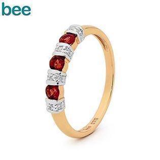 Bee Jewelry  9 kt guld Fingerring blank, model 25050-GT