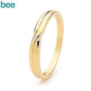 Bee Jewelry Eva Gold Wedder 9 kt guld Fingerring blank, model 45336