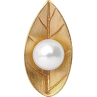 650-G03 , Christina Collect Pearl Leaf rings
