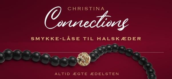 Lækre perle- og sten kæder - Connection serien fra Christina - her hos Ur & Smykker