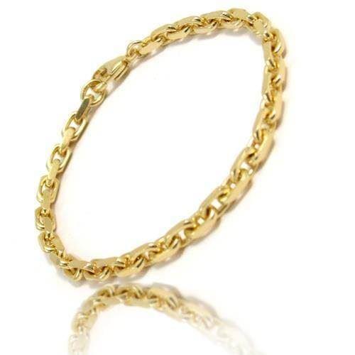 5a9874840ea Anker Facet armbånd og halskæder i 14 karat guld - flere bredder og længder
