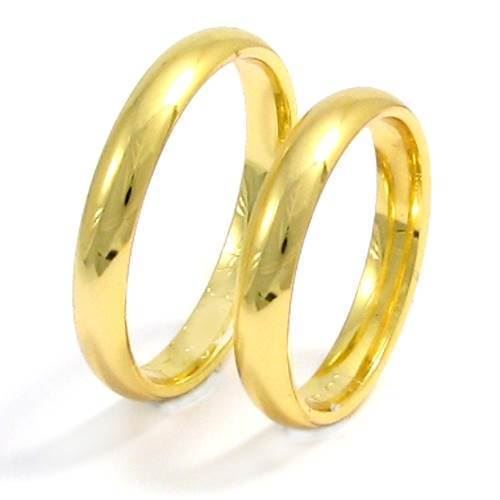 14a55ce831e 4,5 mm glatte ringe i 14 karat guld